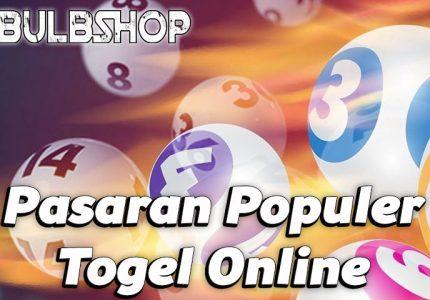 Pasaran Populer Togel Online